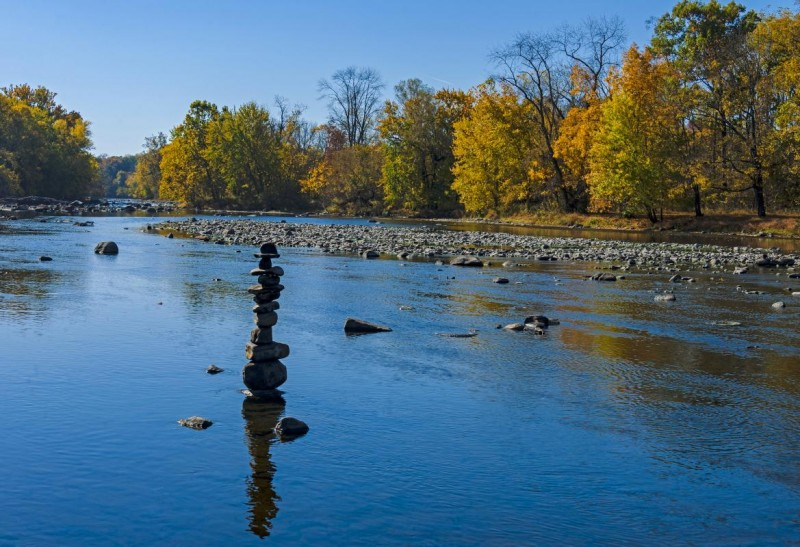 Leaving No Trace: Rock Stacking | Ausable River Association