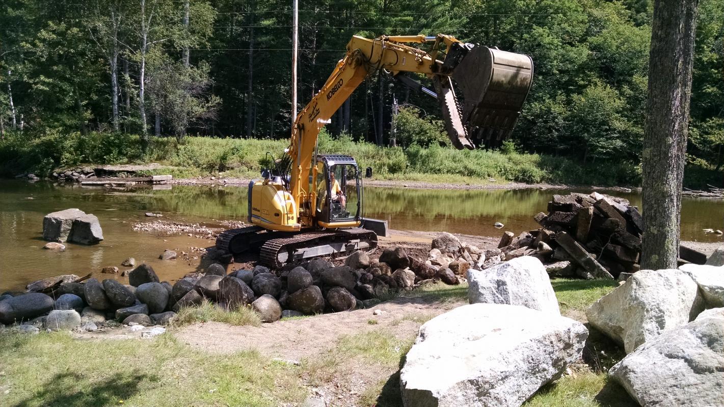 Weir Demolition