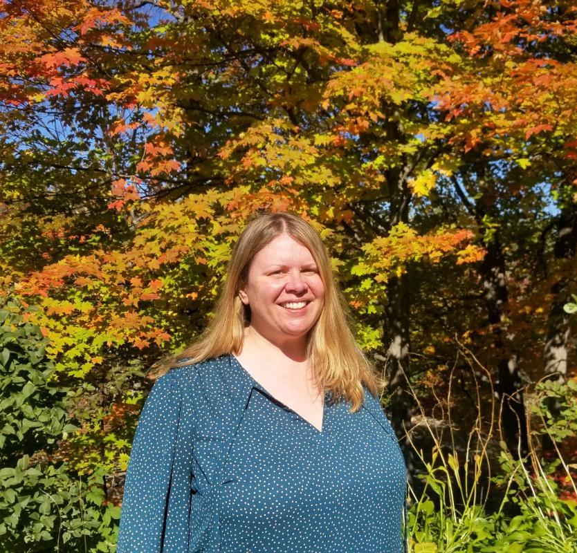 Head shot of staff member Jill Buckpitt