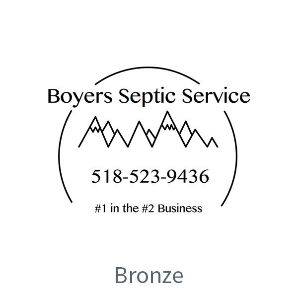 Boyer's Septic Service logo