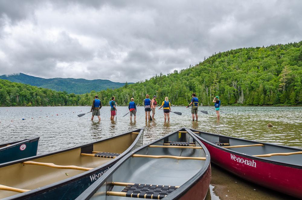 Canoe Heart Lake