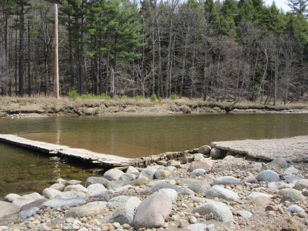 Old Wooden Weir