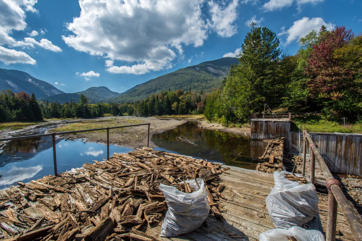 Marcy Dam Removal