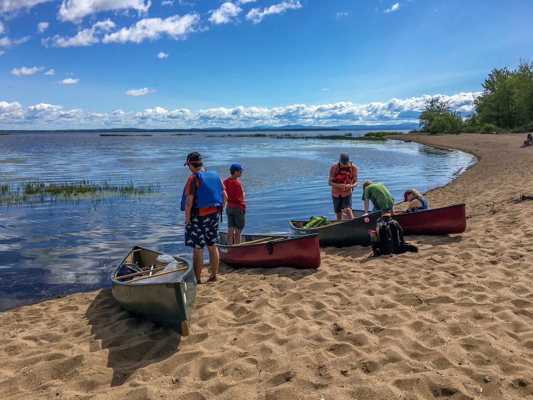 Lake Champlain Ausable Marsh
