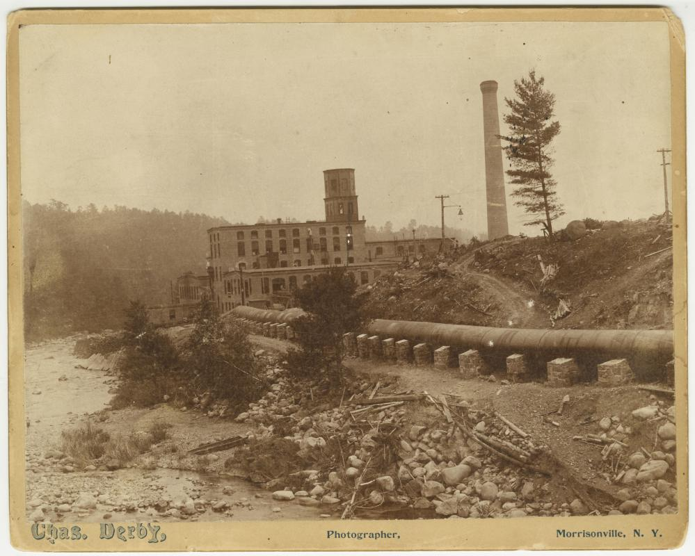 Pulp Mill from Rome Dam