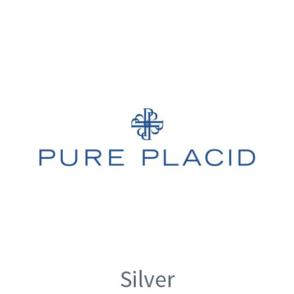 pure placid logo - silver partner