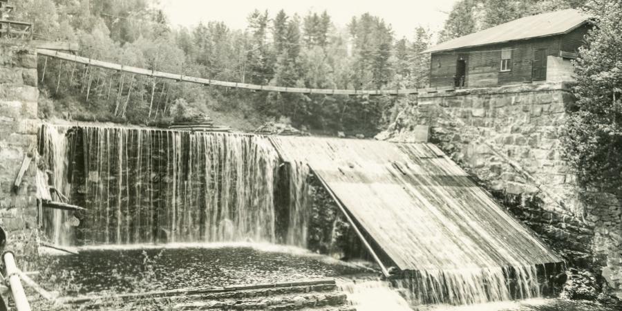Rome Dam Au Sable Forks Jay NY