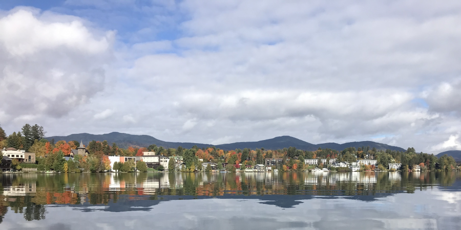 Fall colors on Mirror Lake